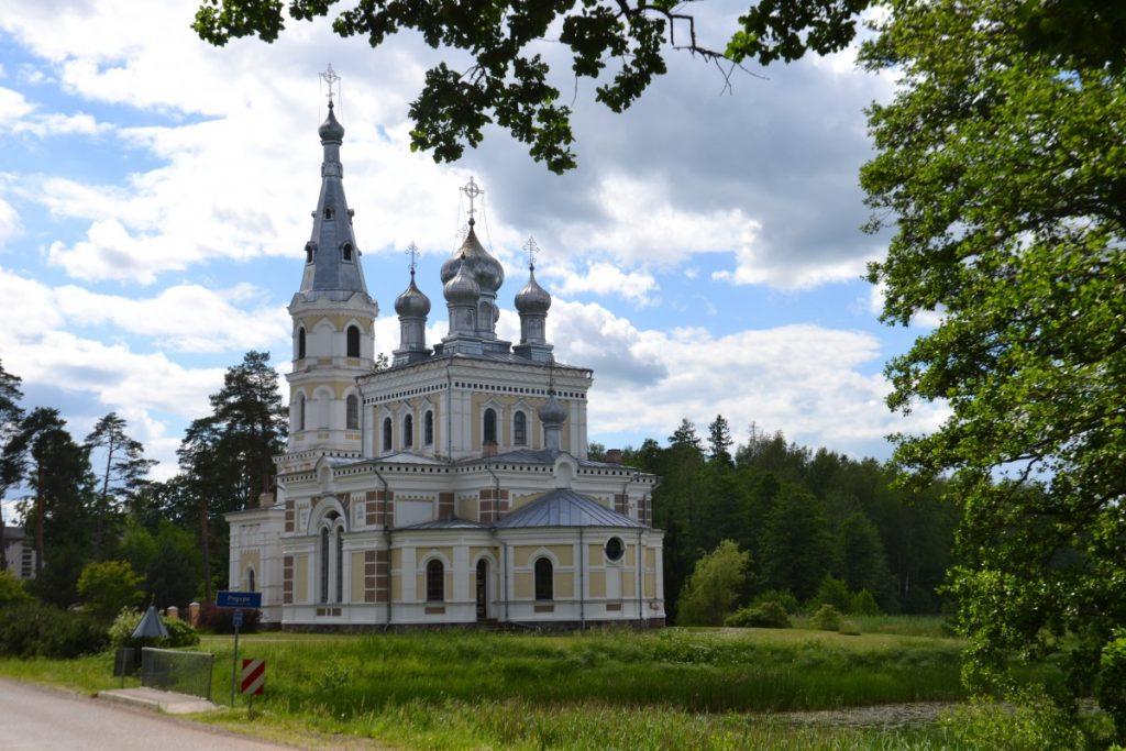 Православный храм Александра Невского в Стамериене. Фото: Елена Иванцова