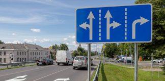 Перекрёсток улиц 18 Ноября и Виестура в Даугавпилсе. 16 июля 2020 года. Фото: Евгений Ратков
