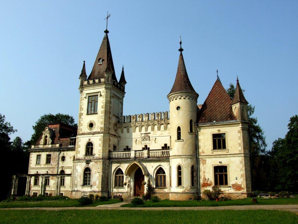 Стамериенский дворец или замок Штомерзее. Фото: Modris Putns