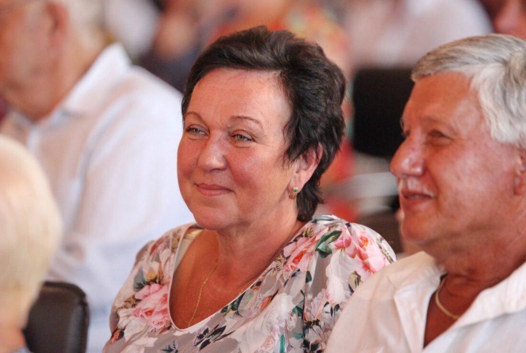 Ингрида Лисовская с мужем. Фото из личного архива