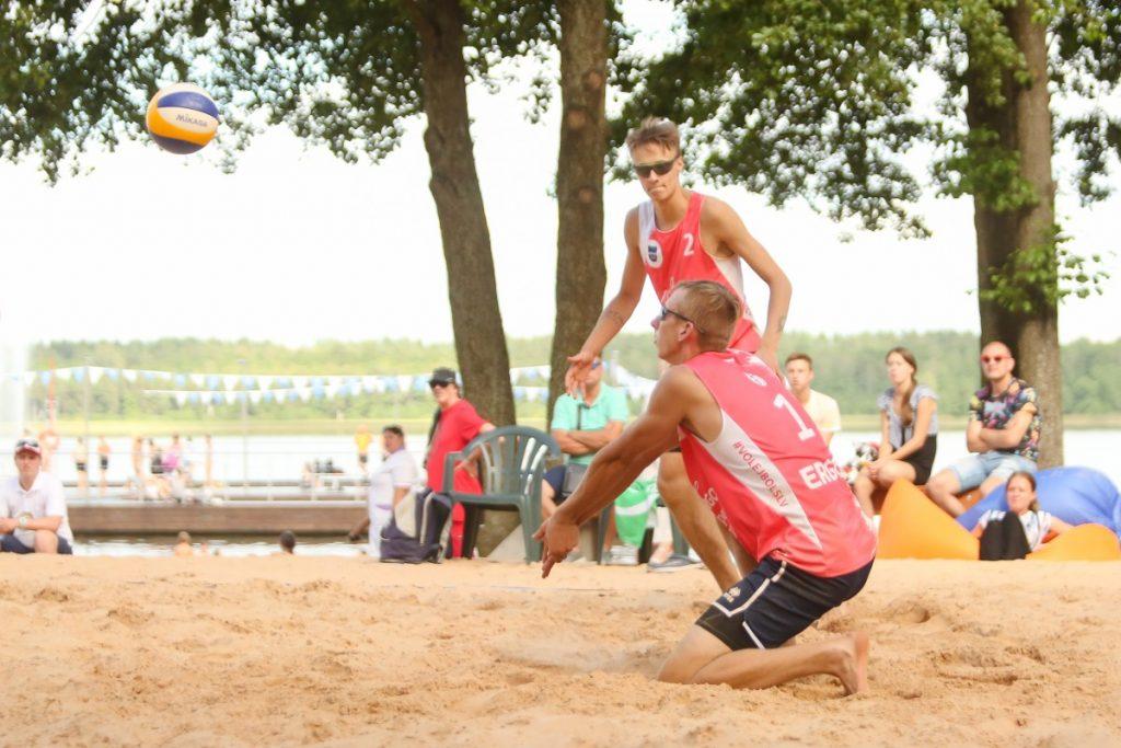 Чемпионат Латвии по пляжному волейболу. Даугавпилс, Стропы, 7-9 августа 2020 года. Фото: Сергей Кузнецов