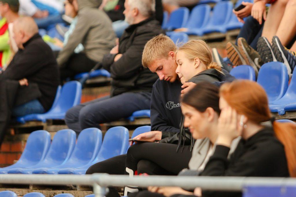 Чемпионат Латвии 2020, Высшая лига, 11 тур. Даугавпилс, 30 июля 2020 года. Фото: Сергей Кузнецов