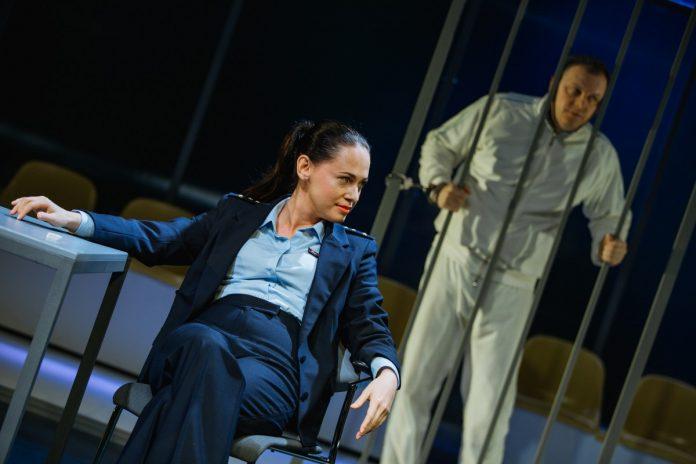 Сцена из спектакля Даугавпилсского театра