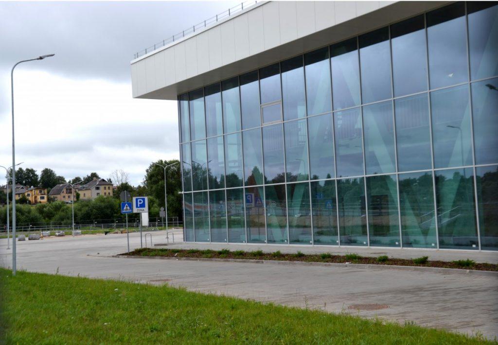 Олимпийский центр в Резекне. Фото: Елена Иванцова