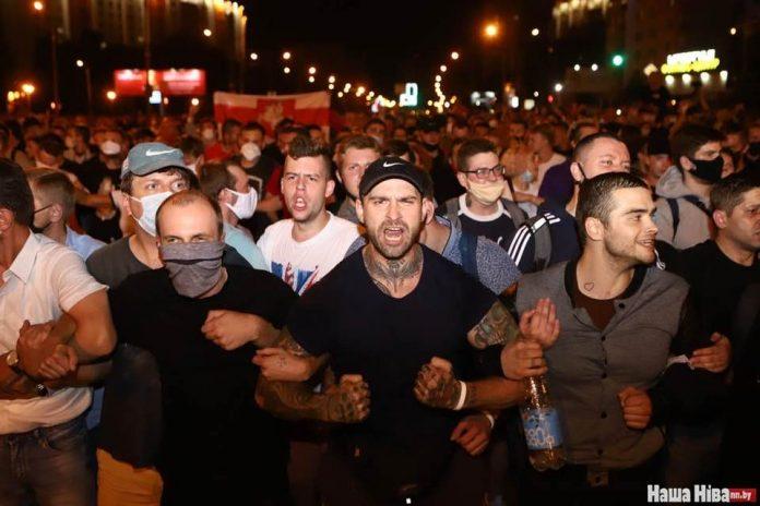 Выборы в Беларуси. Фото со страницы Наты Радиной на фейсбуке