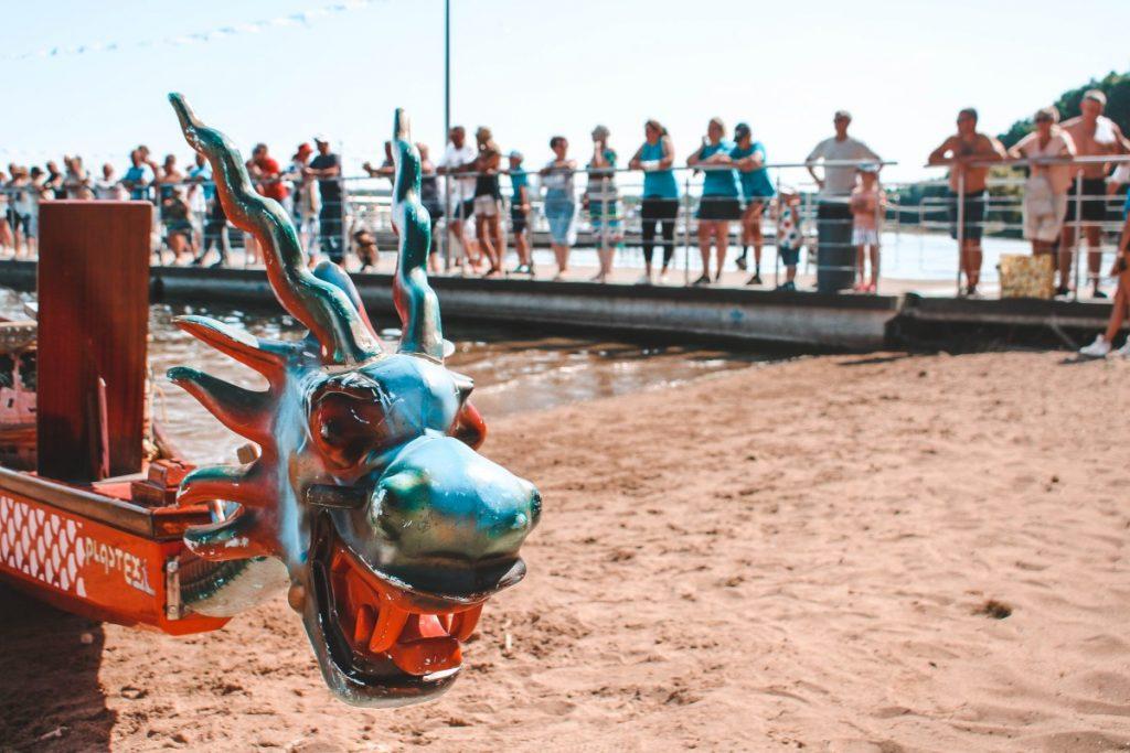 второй международный фестиваль-турнир по гребле Dragon Boat