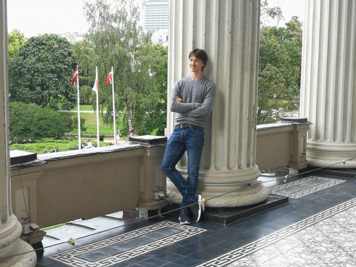 Вадим Мунтагиров в Риге. Фото: Андрей Шаврей