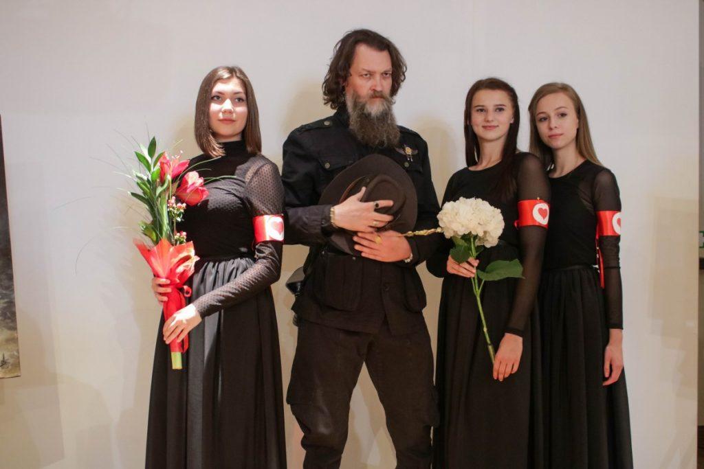 На выставке Сержа Сунне в Даугавпилсе. 1 августа 2020 года. Фото: Настя Гавриленко