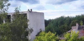 Даугавпилс, заброшка в Крыжах, начало сентября 2020 года. Фото Надежды Разводовской