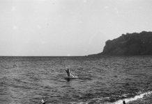 Крым, Коктебель, август 1993 года. Фото из архива Андрея Шаврея