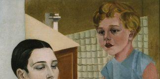 Александра Бельцова. Автопортрет с дочерью. 1926-1927. Фото со страницы Romana Sutas un Aleksandras Beļcovas muzejs на фейсбуке
