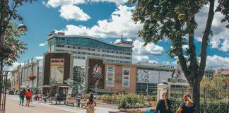 Улица Ригас в Даугавпилсе. Фото: Настя Гавриленко