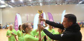 Турнир по девичьему футболу в Даугавпилсе. 11-12 сентября 2020 года. Фото: Сергей Кузнецов