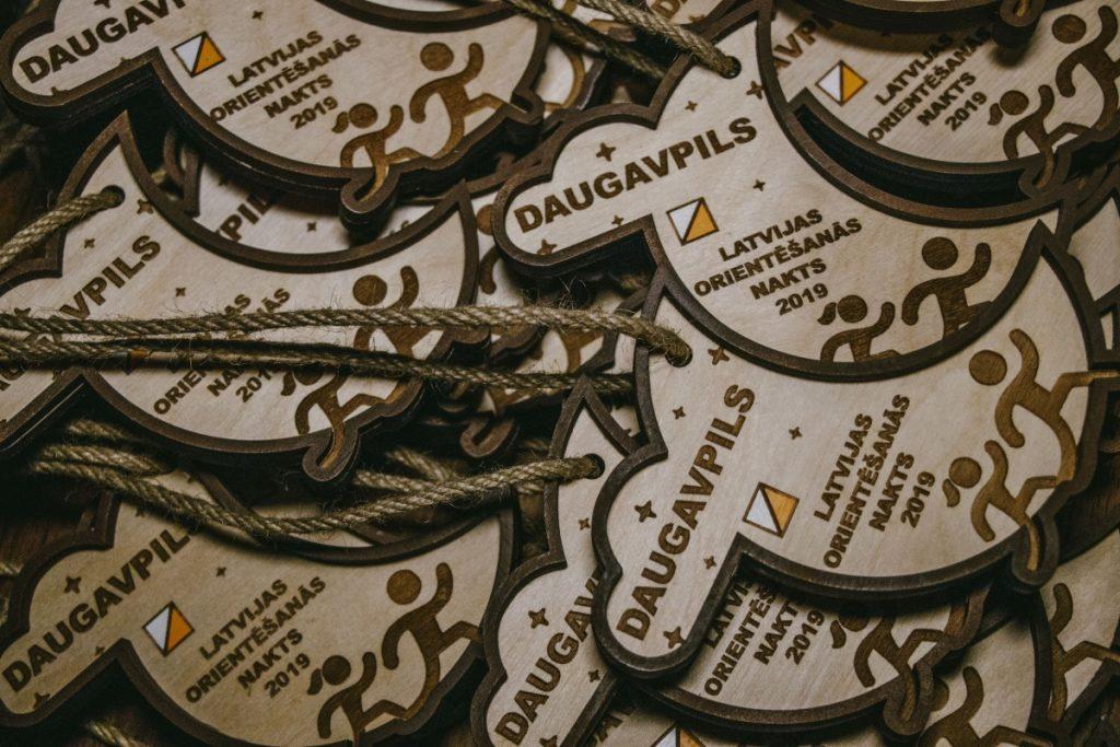 Ночь ориентирования в Даугавпилсе. 27 сентября 2019 года. Фото: Евгений Ратков