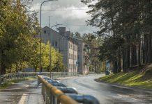 Улица Чиекуру в Даугавпилсе. 17 сентября 2020 года. Фото: Евгений Ратков