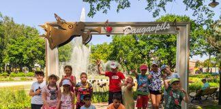 """Детский лагерь """"Атлетическое лето"""" в Даугавпилсе. Июнь 2020 года. Фото: Настя Гавриленко"""