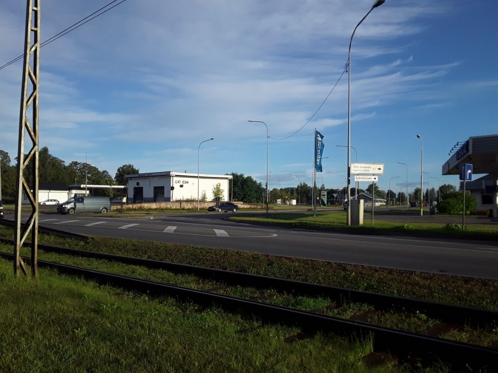На перекрёстке Циетокшня и Балву после ремонта порядок движения не изменится. Фото: Елена Иванцова