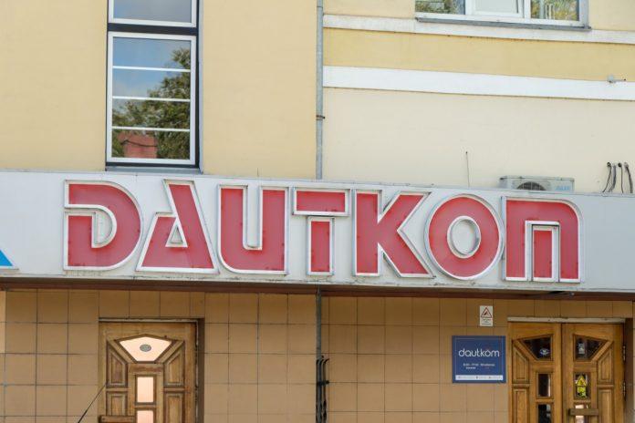 Предприятие Dautkom в Даугавпилсе. 10 сентября 2020 года. Фото: Евгений Ратков