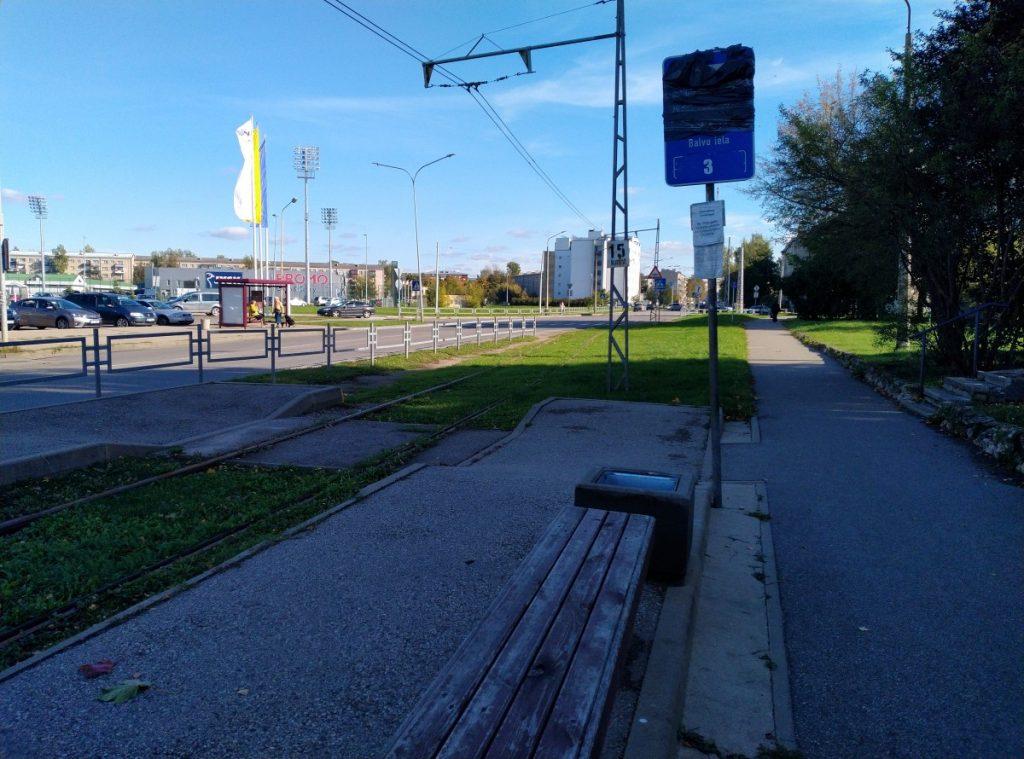 Трамвай в крепость не ходит с середины июня. Фото: Елена Иванцова