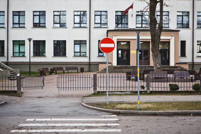 Даугавпилсская Технологическая школа-лицей. Март 2020 года. Фото: Сергей Соколов