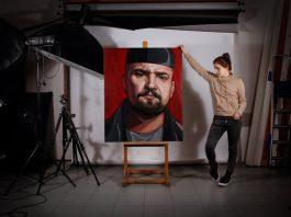 София Шабуневич. Фото со страницы Artist Shabunevich на фейсбуке