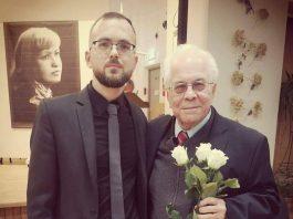 Глеб Беляев и Раффи Хараджанян. Фото из личного архива Глеба