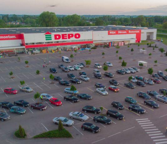Магазин DEPO в Даугавпилсе. Фото: Евгений Ратков