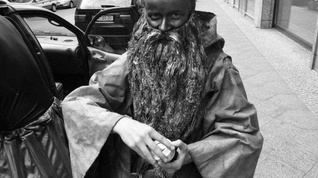 Ванда Гибовска в Германии. Фото из личного архива