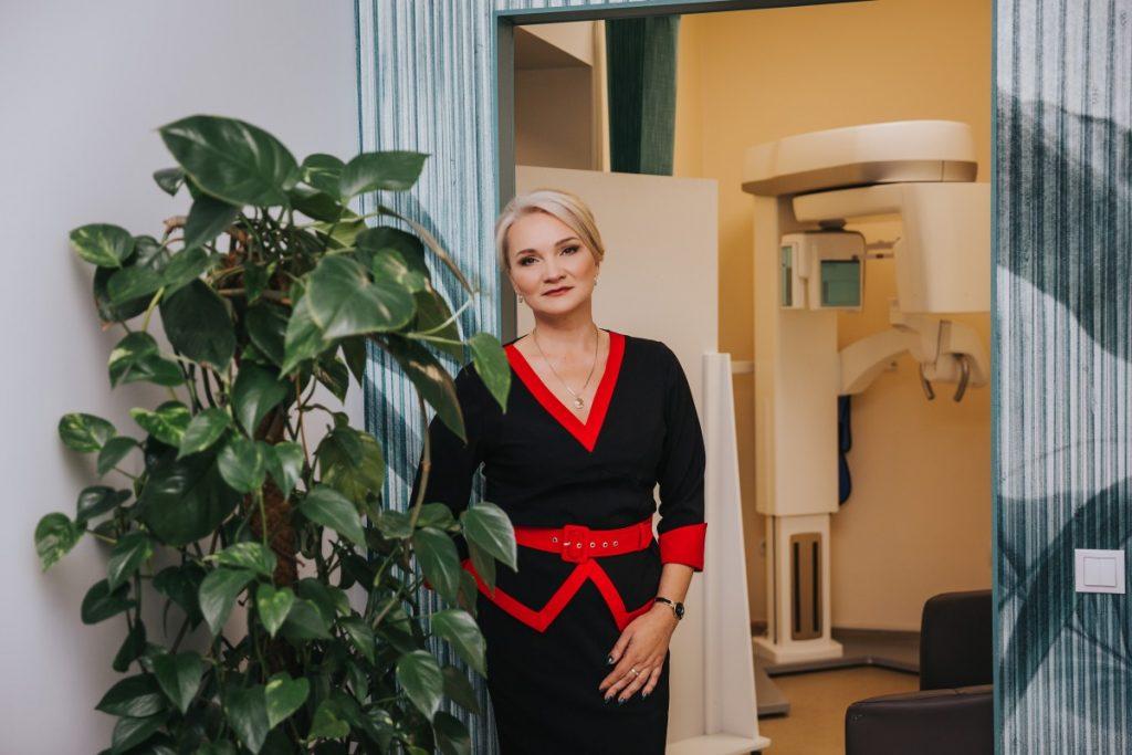 Алёна Мелех, владелица сети стоматологических кабинетов Diadent