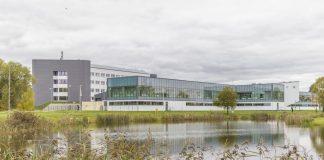 Новый корпус Даугавпилсского университета после реновации. Фото: Евгений Ратков