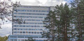 Даугавпилсская региональная больница. Октябрь 2020. Фото: Евгений Ратков