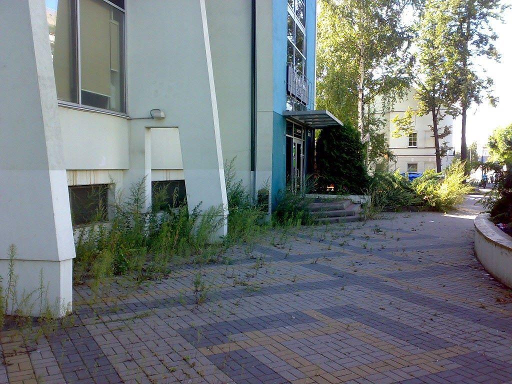 City center в Даугавпилсе. Июнь 2015 года. Фото: Ретро Даугавпилс - Латвия