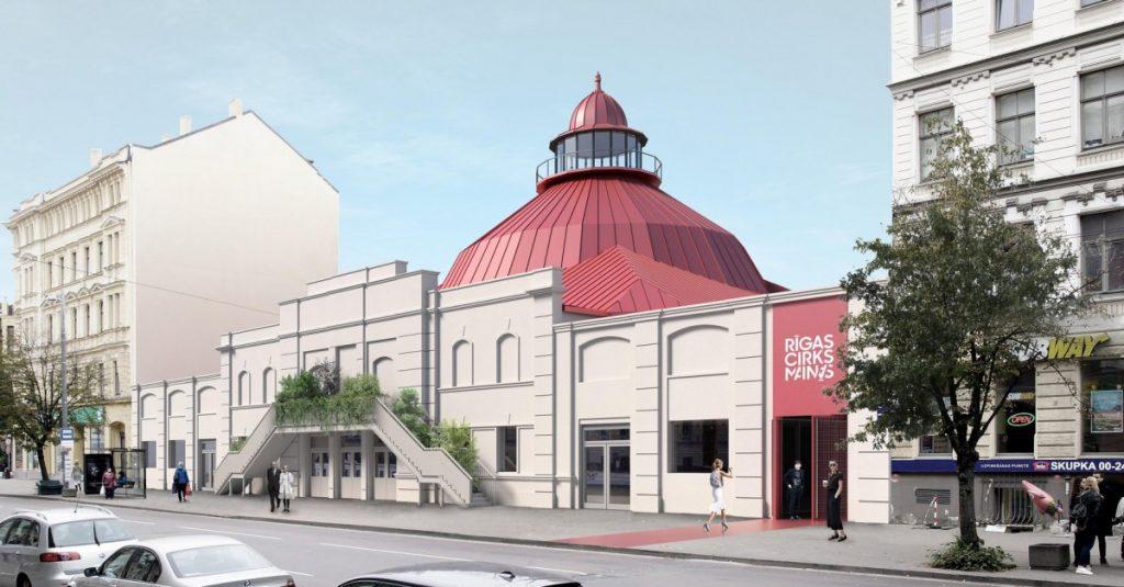 Проект Рижского цирка после реконструкции. Пресс-фото