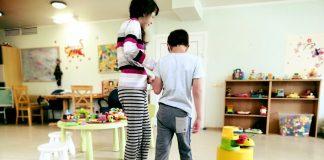 Игровая комната в поликлинике детской клинической университетской больницы Риги