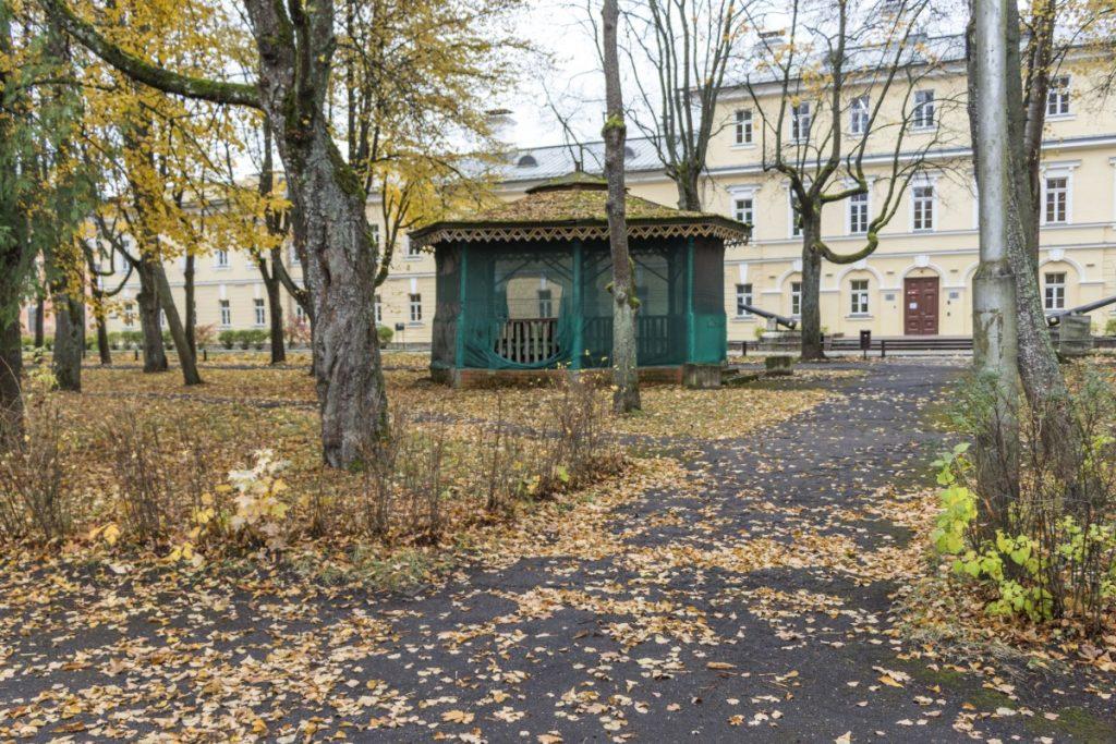 Крепостной парк в Даугавпилсе. Октябрь 2020 года. Фото: Евгений Ратков