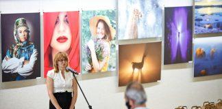 Выставка к 40-летию Ezerzeme F «Мозаика мгновений». Даугавпилс, 6 ноября 2020 года. Фото: Сергей Соколов