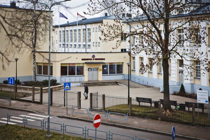 Даугавпилсская средняя школа №9. Март 2019 года. Фото: Сергей Соколов