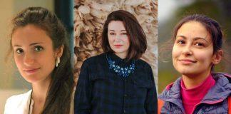 Алиса Мэй, Катрина Крумпане и Вера Талерко