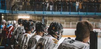 """Хоккейный клуб """"Динабург"""". Фото: Сергей Соколов"""