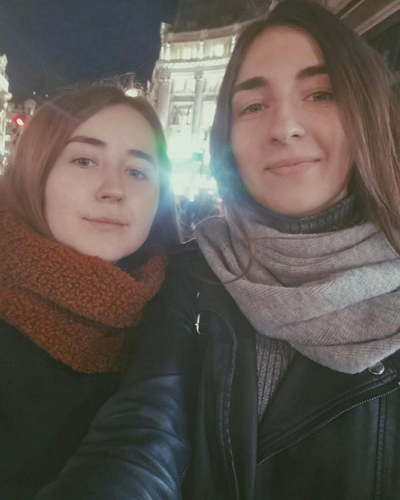 Анна и Эдуарда Сазоновы
