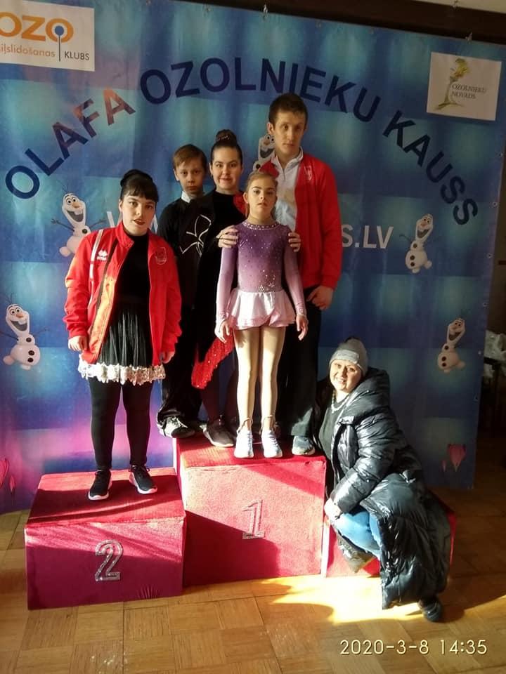 Ольга Нечаева со своими воспитанниками. Фото из личного архива