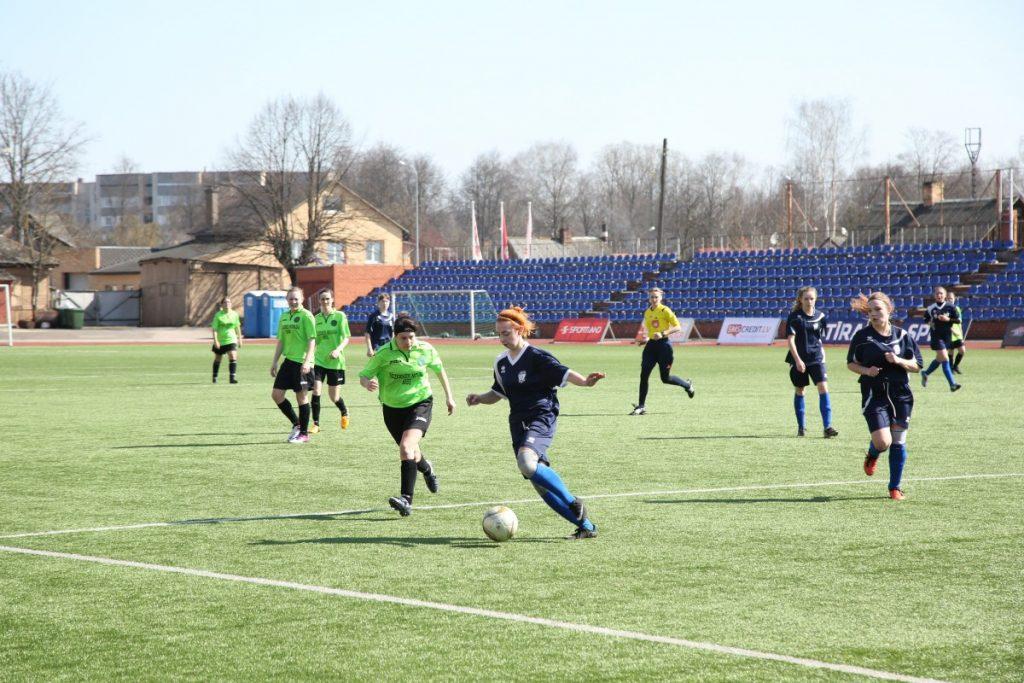 Женский футбол в Даугавпилсе
