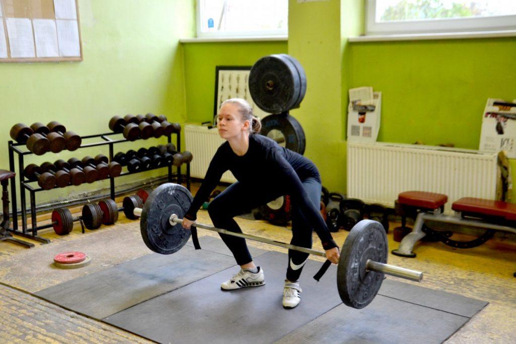 Тяжелоатлетка Паула Молдавченко. Фото: R Media