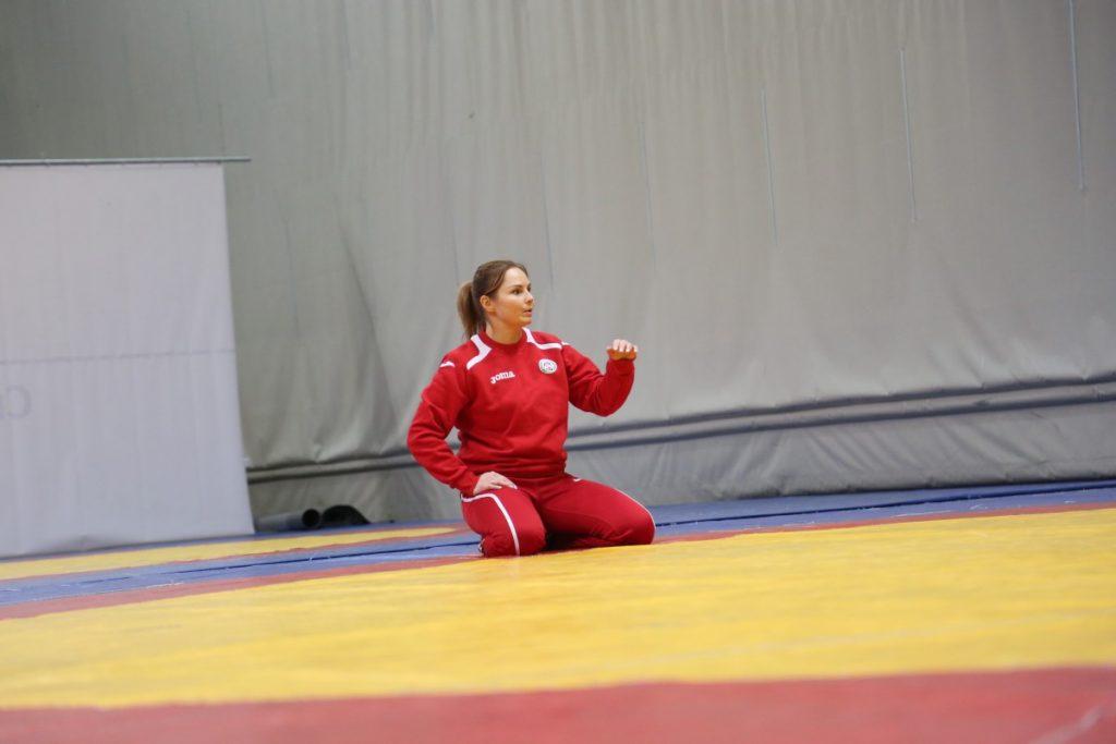 Ирина Петрова, тренер по женской вольной борьбе (Даугавпилс). Фото: R Media