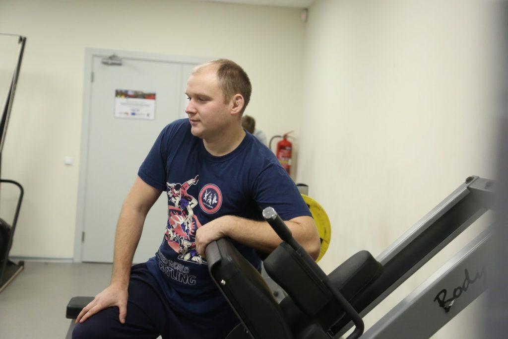 Тренер по борьбе Евгений Тарвид. Фото: R Media