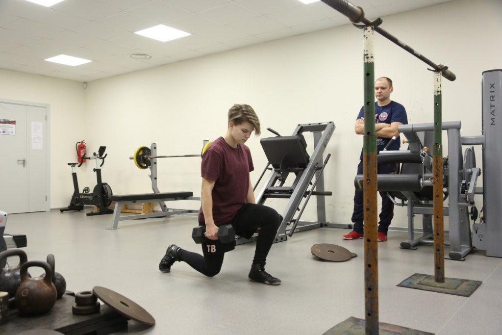 Карина Анджане, кандидат в сборную Латвии по женской вольной борьбе (Краслава). Фото: R Media