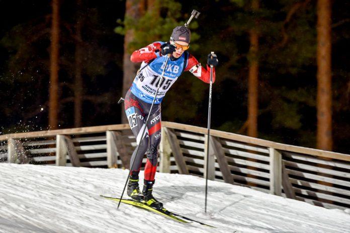 Даугавпилчанин Кирилл Матюхин дебютировал на Кубке мира по биатлону. Фото: Юлия Садыкова