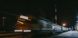 Даугавпилсский железнодорожный вокзал. 2 ноября 2019 года. Фото: Евгений Ратков