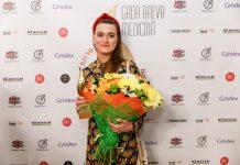 Лучшей акушеркой 2019 года стала Раминта Киселёва из Даугавпилсской региональной больницы. Фото: Latvijas Ārstu biedrība