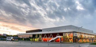 Олимпийский центр в Резекне готов принять матчи ЧМ по хоккею. Фото: rezekne.lv